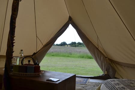 Traditional Family Sized Bell Tent - Kirby Cane, Bungay