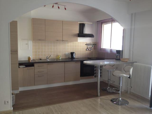 Grand studio meublé - Menton - Apto. en complejo residencial