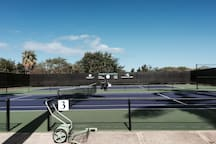 Tennis Courts for you to enjoy