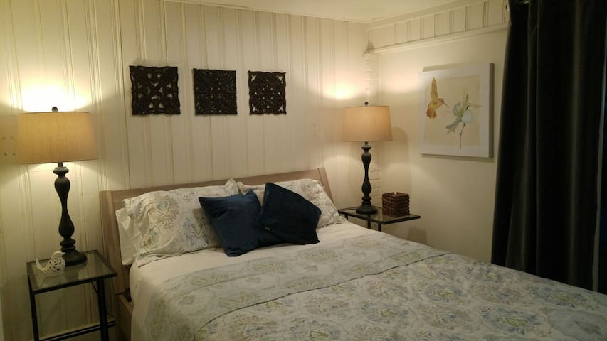 Private Garden Apt 20 min from NYC! - 北伯根 - 公寓