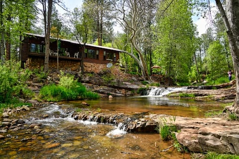 Carroll Lodge by the Falls on Tonto Creek.