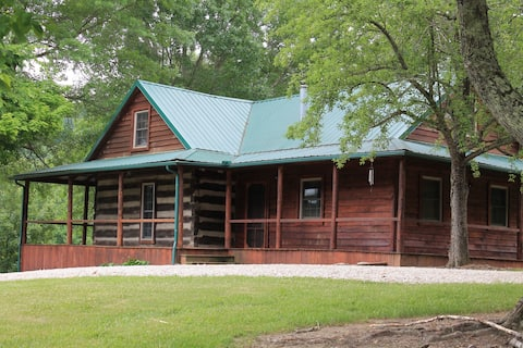 The Classic Hand Hewn Log Cabin