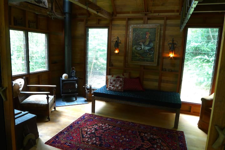 Arty Rainforest Cabin Eumundi Qld - Eerwah Vale - Cabana
