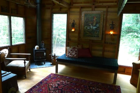 Arty Rainforest Cabin Eumundi Qld - Eerwah Vale - Chatka