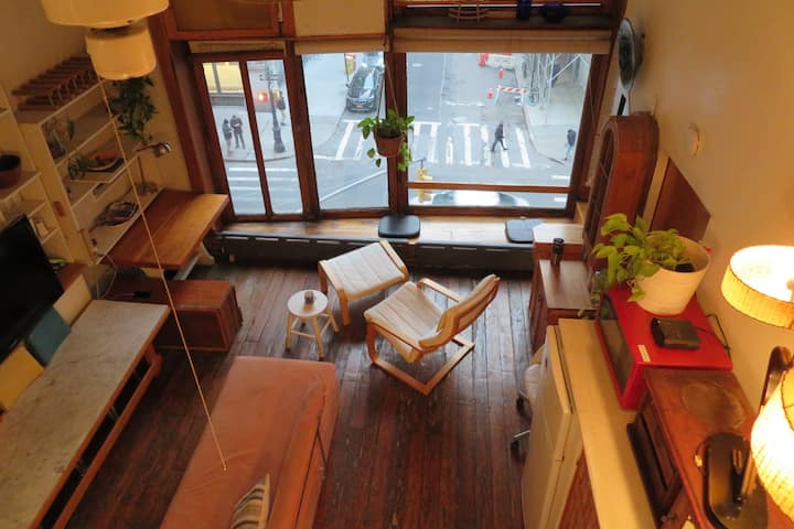 Classic Manhattan Loft Apartment w/ Outdoor Deck