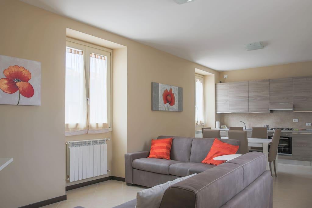 Quadrilocale in corte ristrutturata appartamenti in for Appartamenti arredati in affitto brescia