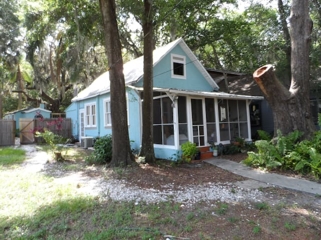 Cottage in Heart of Safety Harbor - Safety Harbor - Huis