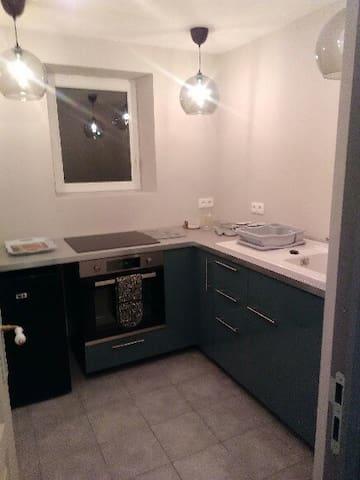 Newly refurbished kitchen/Cuisine récemment rénovée