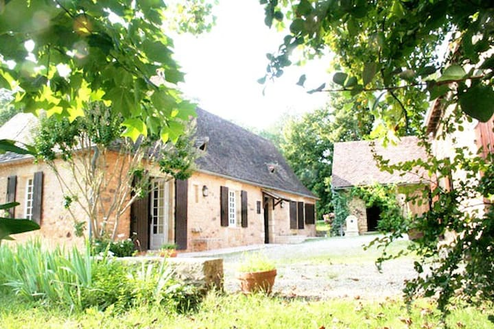 Private typical house in Perigord ! - Saint-Avit-de-Vialard - Casa