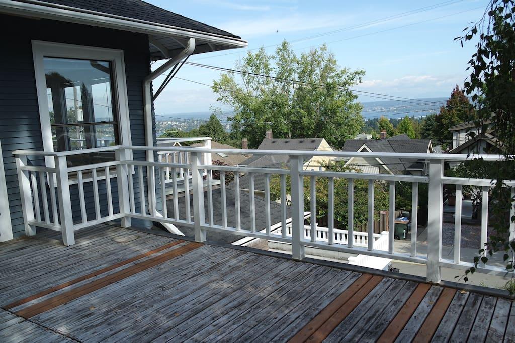 Two private decks
