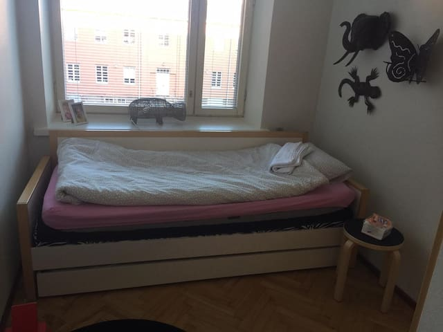 Room in city center near the river