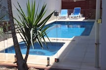Heated Pool and Spa with Sun Lounges - Are you ready to Relax?