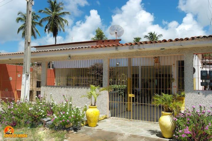 Casa grande em Japaratinga/AL Caribe Brasileiro