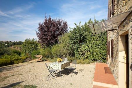 Appartamento vista stupenda&piscina - Barberino Val D'elsa - Apartemen