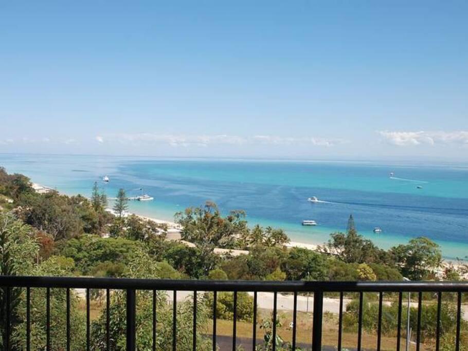 Views across Moreton Bay