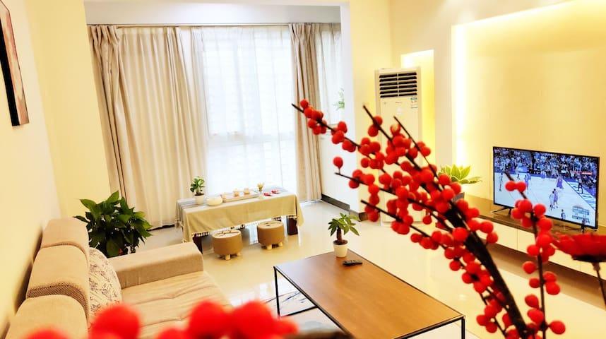 【武夷印象】三姑度假区中心位置两室两厅一卫阳光大床房整租