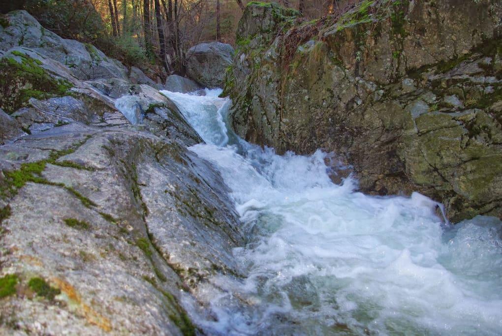 Une des cascades