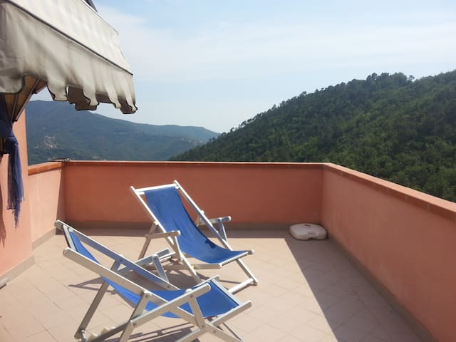Quite Villa by Sea and Nature for 2 - Casarza Ligure - Apartamento