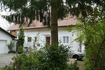 Hauptwohnung in Landhaus im südl. Markgräflerland - Kandern - Casa