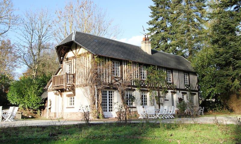 Charmante demeure sur domaine privé - Pont-l'Évêque - Casa