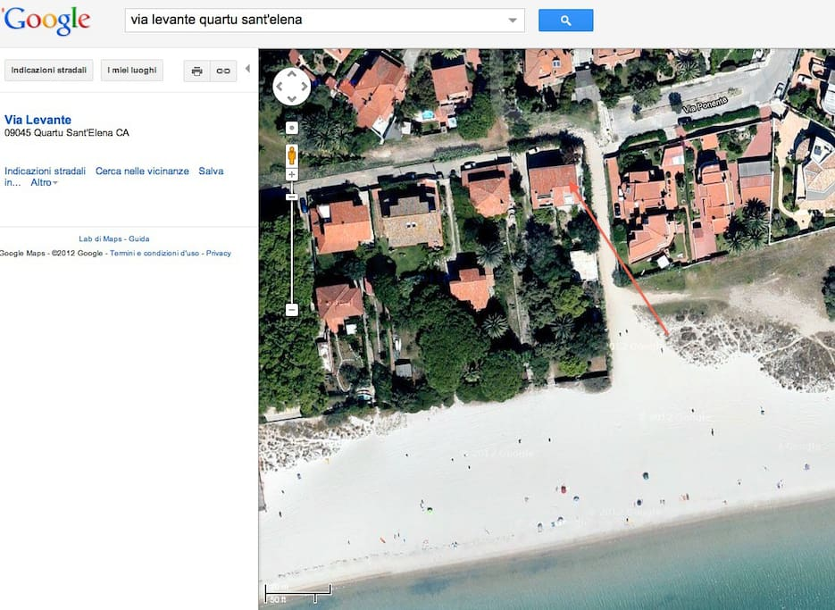 vista google map