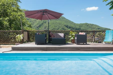 Surya Pyrenees B&B Foix - Yoga/Pool/Views/Gdn Rm 3 - Foix - Bed & Breakfast
