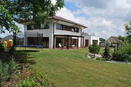 New modern house near Prague - Šestajovice