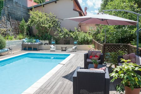 Surya Pyrenees B&B Foix - Yoga/Pool/Views/Gdn Rm 1 - Foix - Bed & Breakfast