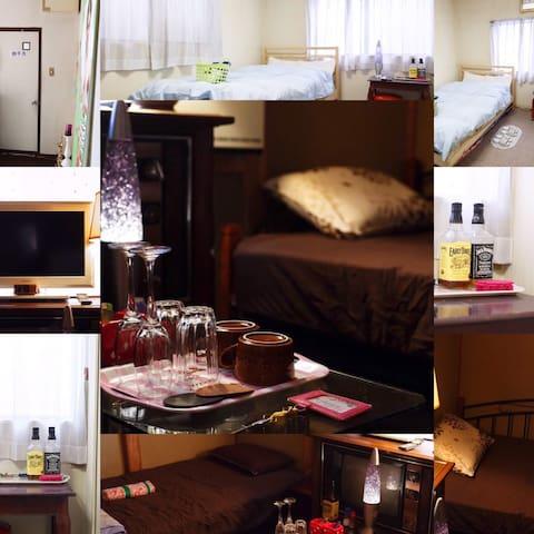 Singh's Kitchen MINI ROOM1 - Naniwa-ku, Ōsaka-shi - Huis