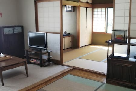 Spacious & cozy Japanese-style house