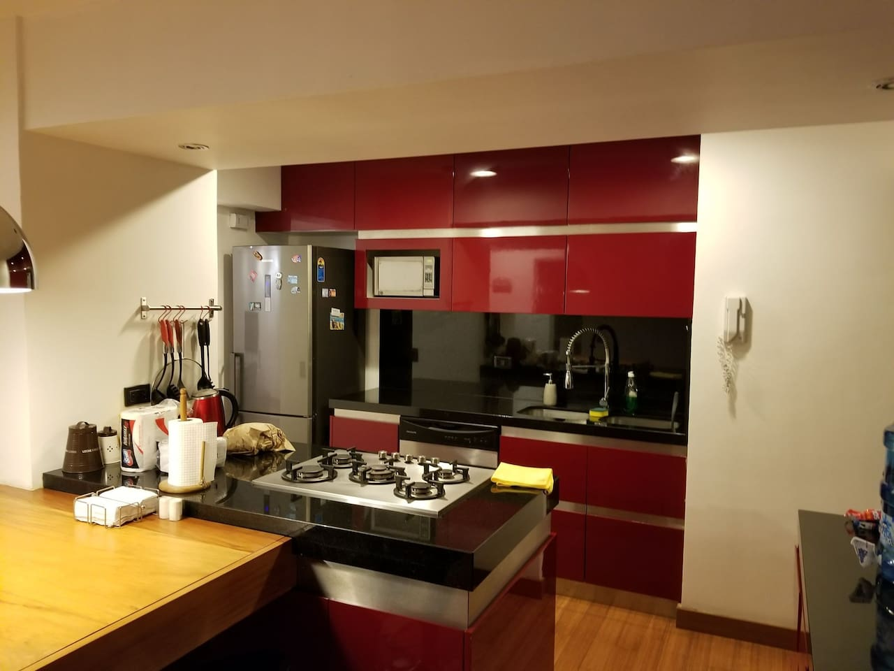 Full Aparment with Open Kitchen, 2 Bedroom, Balcony, Laundry Area and High Speed Internet