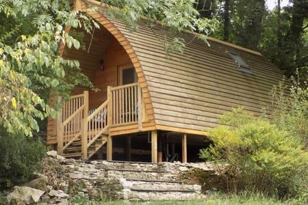 Luxury Woodland Glamping Pod  Heaves Wood - Yan