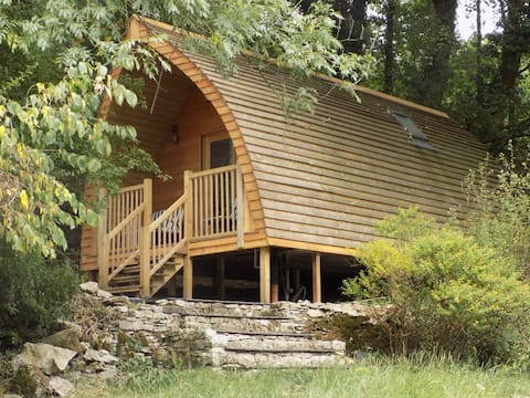 Luxury Woodland Glamping Pod  Heaves Wood - Yan