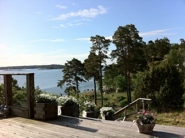 Norwegian Fjord cabin with fabulous view