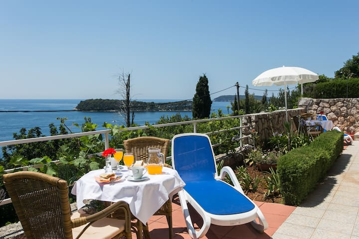 Apartment in Mediterranean villa - Dubrovnik - Villa
