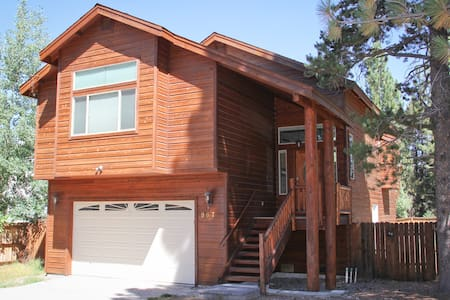 Modern 3br cabin with hot tub, wifi - South Lake Tahoe - Rumah