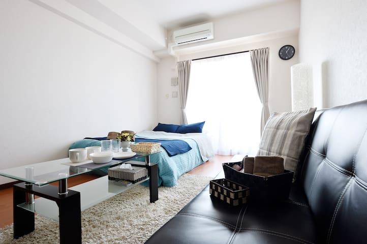 Near Namba clean & cozy room wi-fi