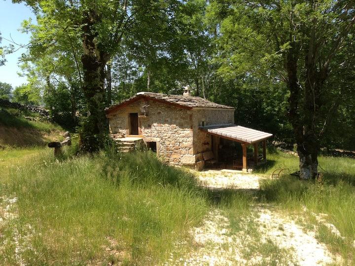 Cabaña pasiega de piedra