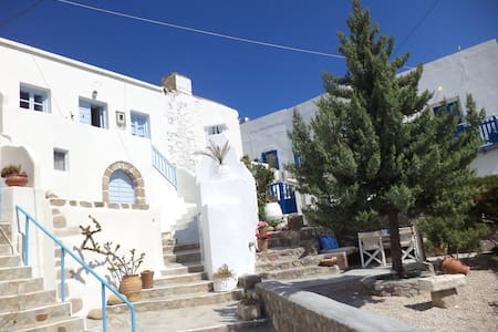 Authentic Traditional Cycladic house - Plaka - Hus