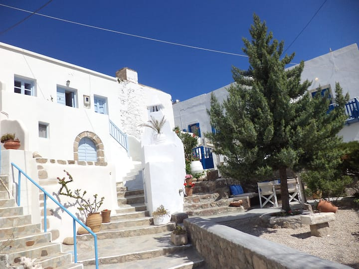 Authentic Traditional Cycladic house