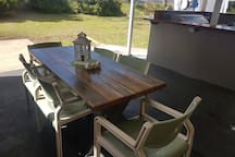 Large Outdoor Table To Entertain
