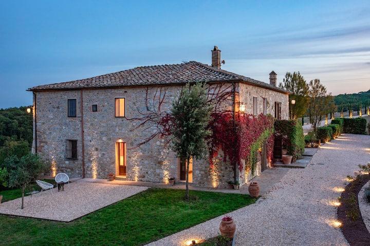 Villa between Florence and Siena - Spa,Gym,Pool