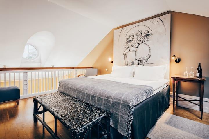 Junior Suite Etage @ Stallmästaregården