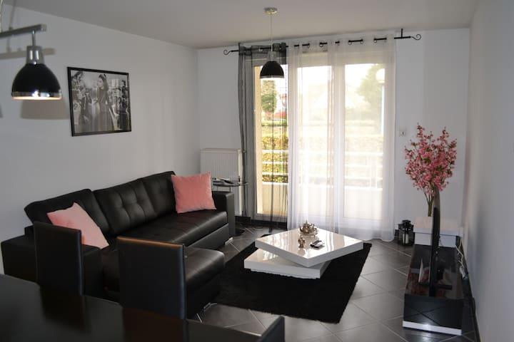T2 dans résidence moderne - Strasbourg Sud - Illkirch-Graffenstaden - Apartamento