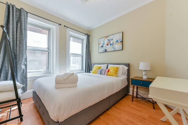 Lovely 1BR/1BA Apt in the North End
