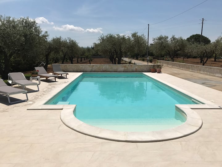 Three Bedroomed Villa with Pool near Alghero