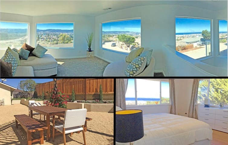 Incredible 270° Monterey Bay View in Spacious Home - Seaside - Rumah