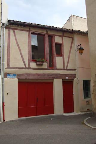 Maison/Loft avec  garage situé centre ville Cahors