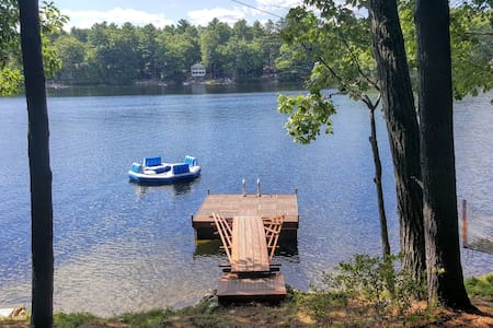 Fabulous vintage lakeside cottage! - Windham - Casa