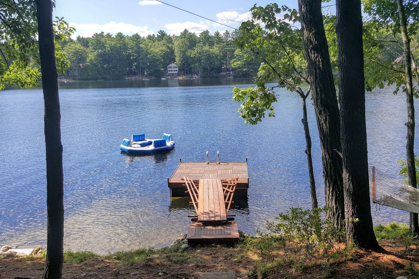 Pettingill Pond~Dive off dock into spring fed clear water!